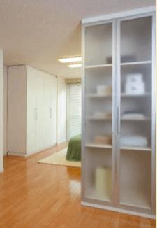 設置するだけで部屋を間仕切る、簡単施工で安心の