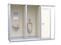 パネルハウストイレ棟